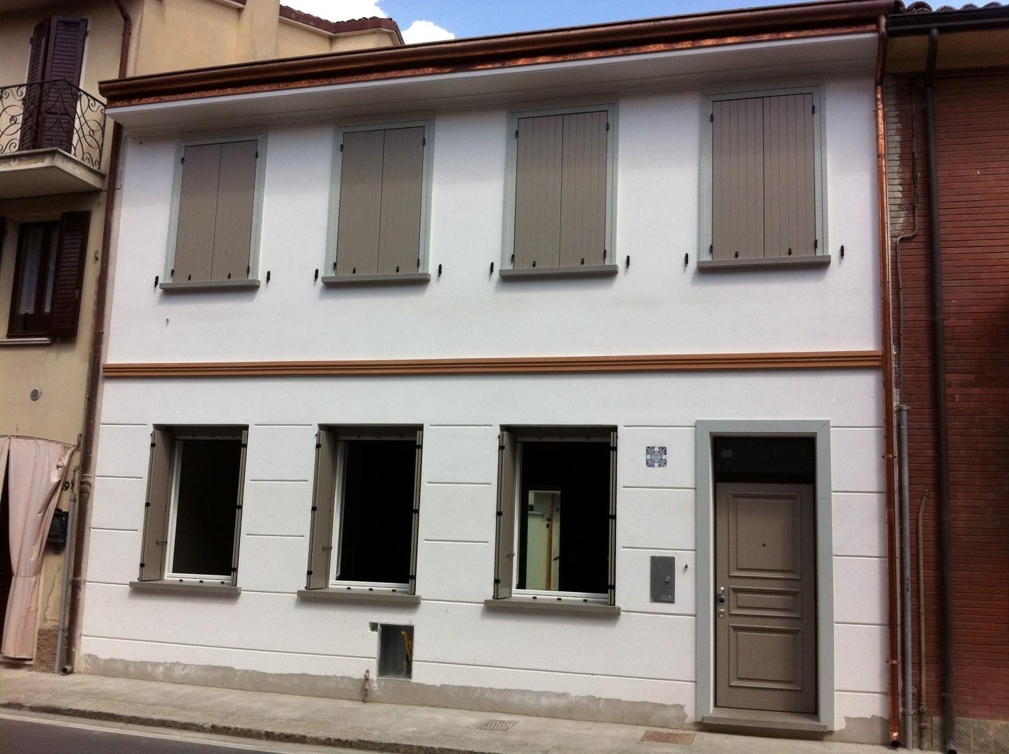 Ristrutturazione fabbricato in Boretto (RE)