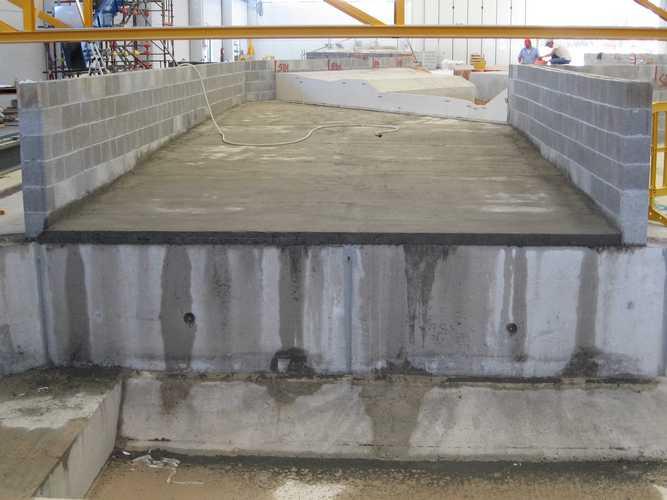 Capannone industriale e modello fluviale per AIPO - Boretto (RE)