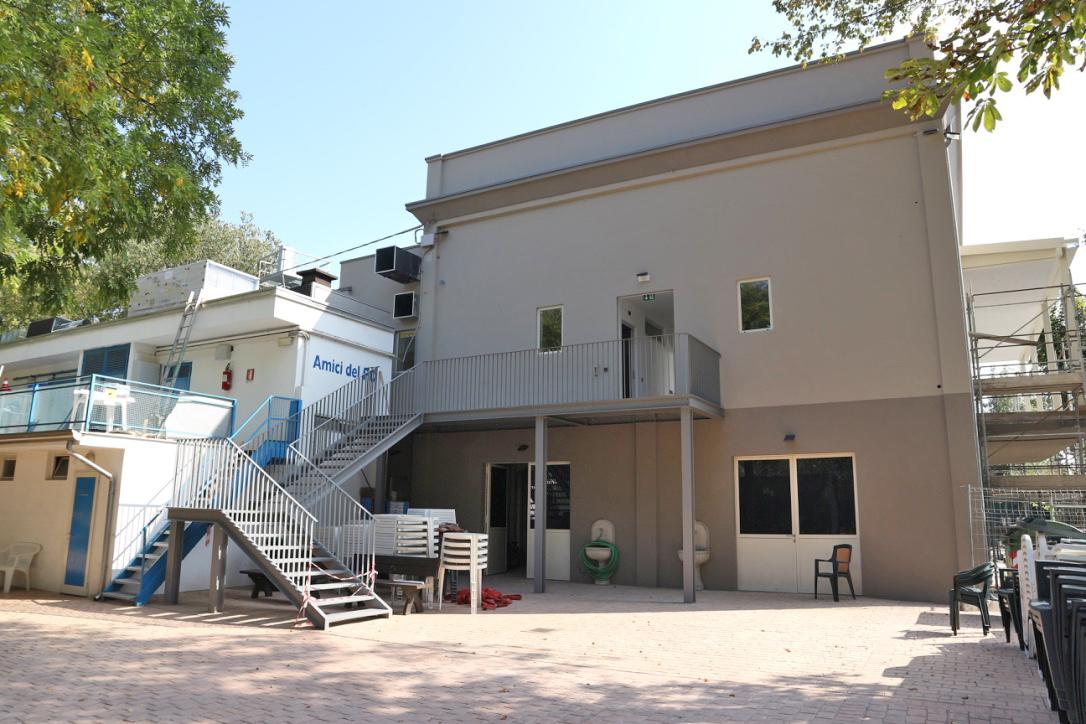 Restauro Sala Lido Po - Casalmaggiore (CR)